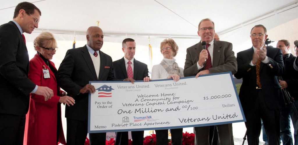 Veterans United Gives $1 Million to Welcome Home, A Community for Veterans