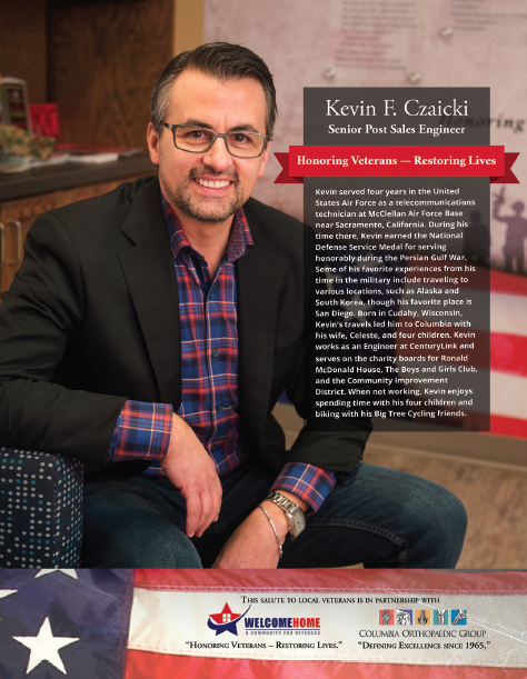 """Salute to Local Veterans"" featuring Kevin Czaicki"