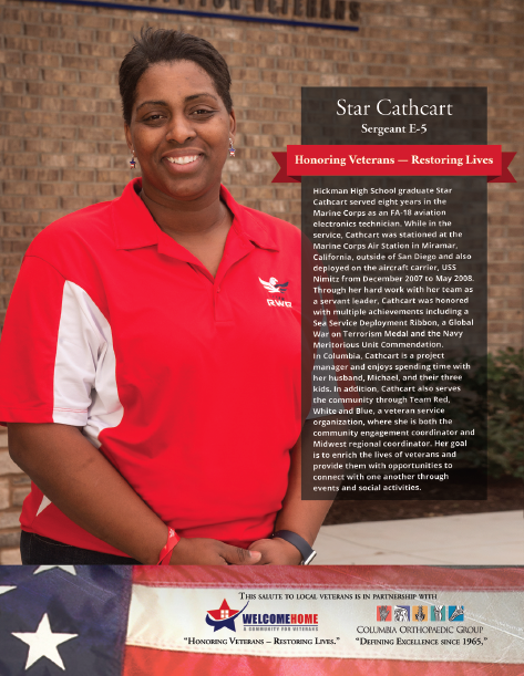 """Read more about the article """"Salute to Local Veterans"""" featuring Star Cathcart"""