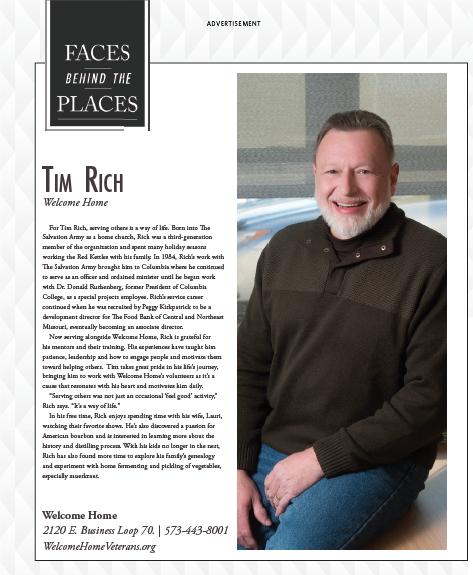 """Read more about the article """"Faces Behind Welcome Home"""" featuring Tim Rich"""