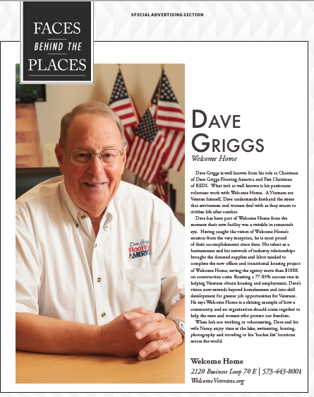 """Faces Behind Welcome Home"" featuring Dave Griggs"