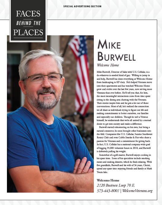 """Faces Behind Welcome Home"" featuring Mike Burwell"