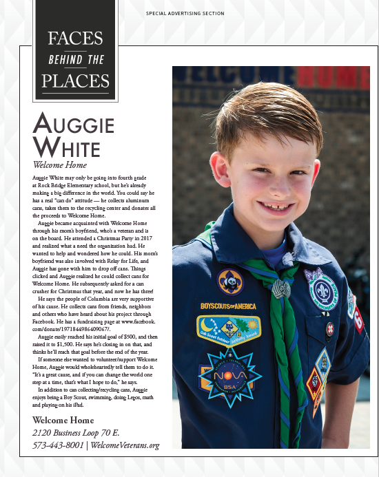 """Faces Behind Welcome Home"" featuring Auggie White"