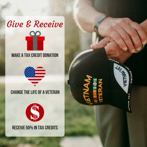 Copy of TWO WAYS TO GIVE BACK TO VETERANS & FAMILIESDURING END OF YEAR GIVING_